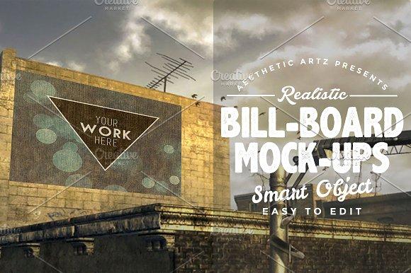 Realistic Billboard Mock-ups