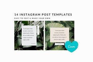Instagram Post Templates | Canva