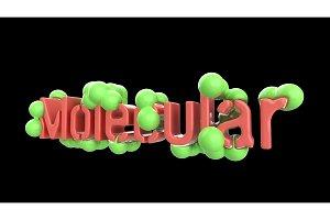 Model of abstract molecular