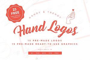Hand Logo Kit + Free Bonus