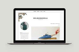 Blogger Template - Belmanarola
