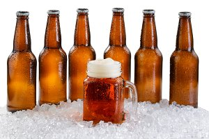Ice cold beer for the party