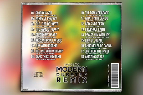 Modern Dubstep Remix CD Album Artwor