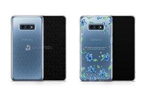 Galaxy S10 E UV TPU Clear Case