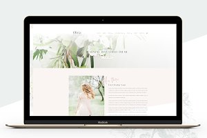 Olivia Photography Divi Child Theme
