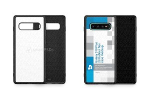 Galaxy S10 Plus 2d RubberFlex Case