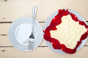 whipped cream mango cake with red rose petals 016.jpg