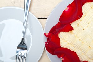 whipped cream mango cake with red rose petals 020.jpg