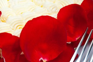 whipped cream mango cake with red rose petals 028.jpg