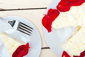 whipped cream mango cake with red rose petals 040.jpg
