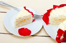 whipped cream mango cake with red rose petals 043.jpg