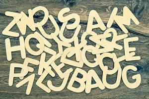 ABC Alphabet letters JPG