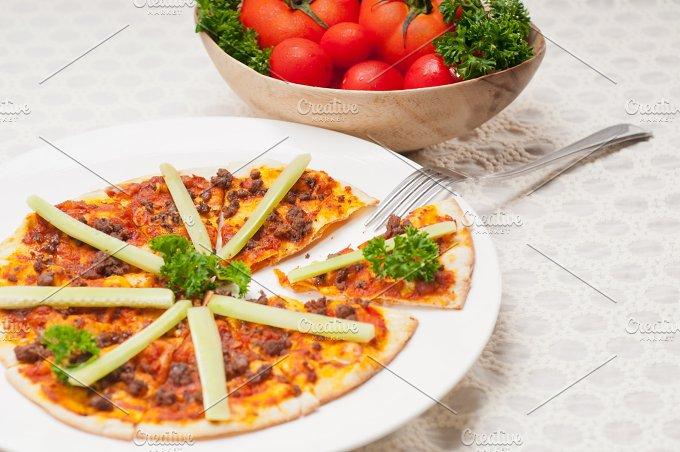 Turkish beef pizza pita 14.jpg - Food & Drink