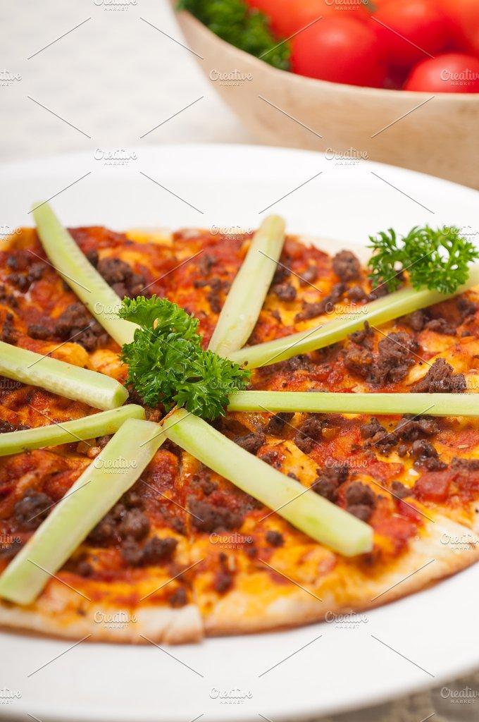 Turkish beef pizza pita 20.jpg - Food & Drink
