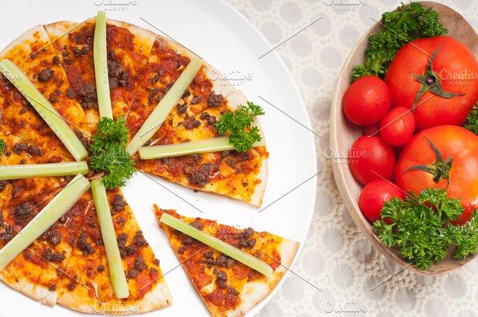 Turkish beef pizza pita 27.jpg - Food & Drink