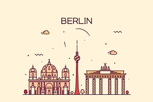 Berlin skyline (Germany)