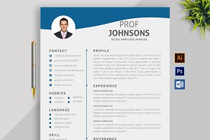 Resume Template and Cover Letter