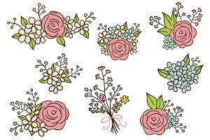 Floral compositions