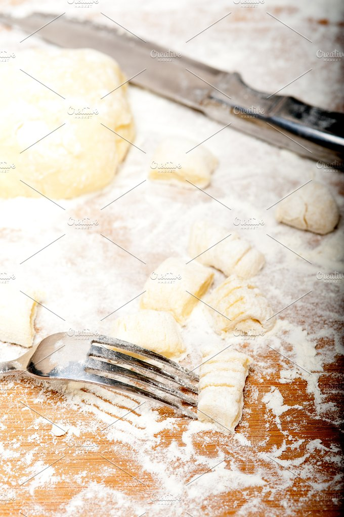 traditional Italian potato gnocchi 015.jpg - Food & Drink