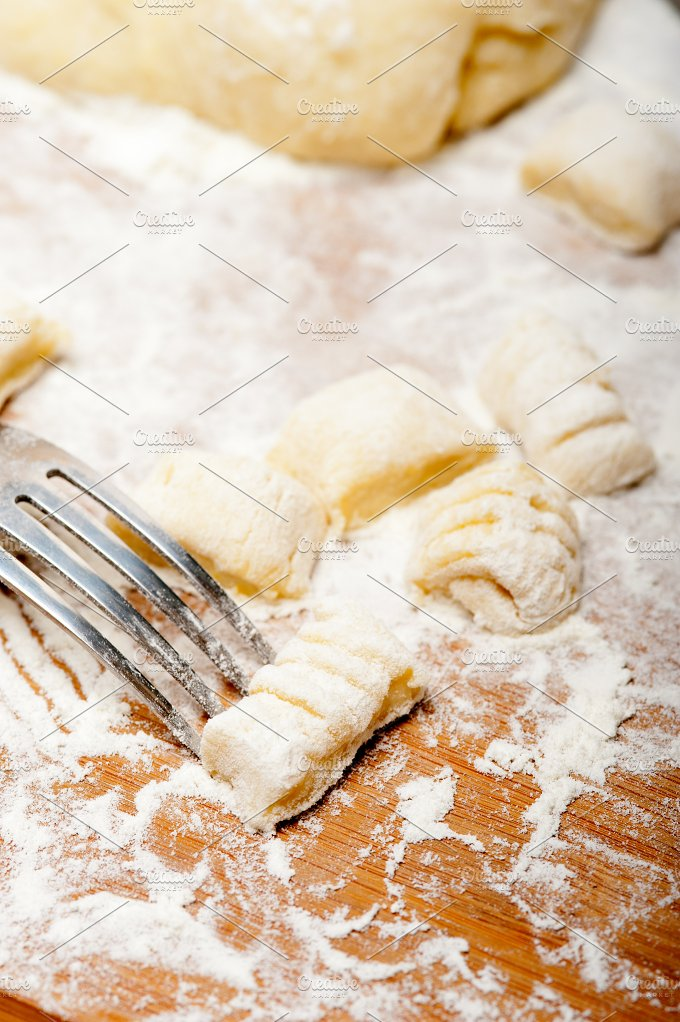 traditional Italian potato gnocchi 021.jpg - Food & Drink