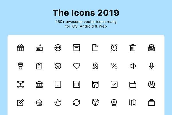 700+ Premium Vector Icons ~ Icons ~ Creative Market