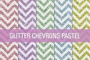 Glitter Chevron Textures Pastel