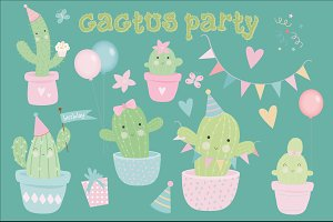 Cactus party pack