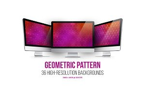 Geometric Pattern Web Backgrounds