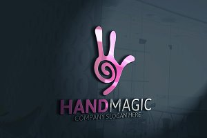 Hand Magic Logo