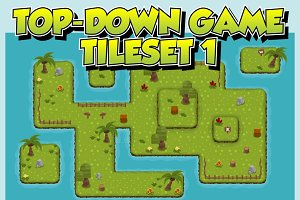 Top-Down Game Tileset 1