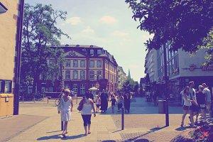Frankfurt Altstadt Main Germany