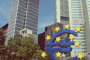 Euro Sign European Central Bank FFM