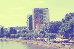 Ferris Wheel in Frankfurt Germany