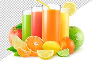 Isolated citrus juices