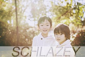 Schlazey Set of Photoshop Actions