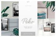 Peko - Frame Mockup Creator Kit
