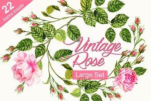 Vintage Rose Set