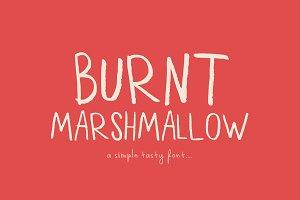 Burnt Marshmallow Font