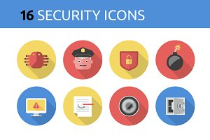 Security Icons Collection