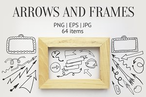 Arrows and frames
