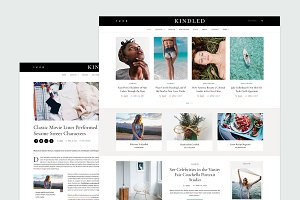 Kindled - Blog WordPress Theme