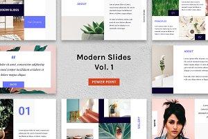 Modern Slides (Vol.1) – Powerpoint