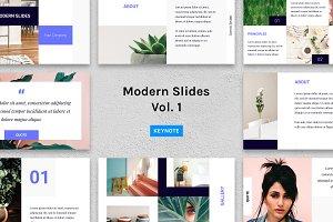 Modern Slides (Vol.1) – Keynote