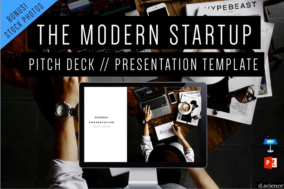 Creative Pitch Deck Startup Template ~ Keynote Templates ~ Creative
