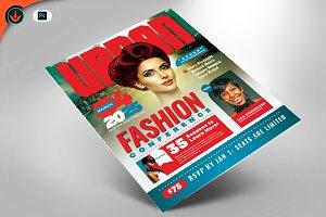 Urban Fashion Conference Flyer