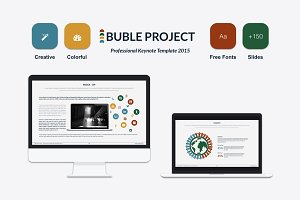 Bubble Keynote Presentation Template