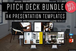 Creative Pitch Deck Bundle 50% OFF