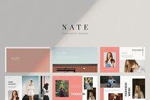 Nate - Google Slides Template by  in Google Slides
