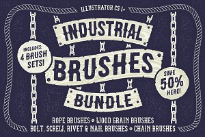Industrial Brushes Bundle