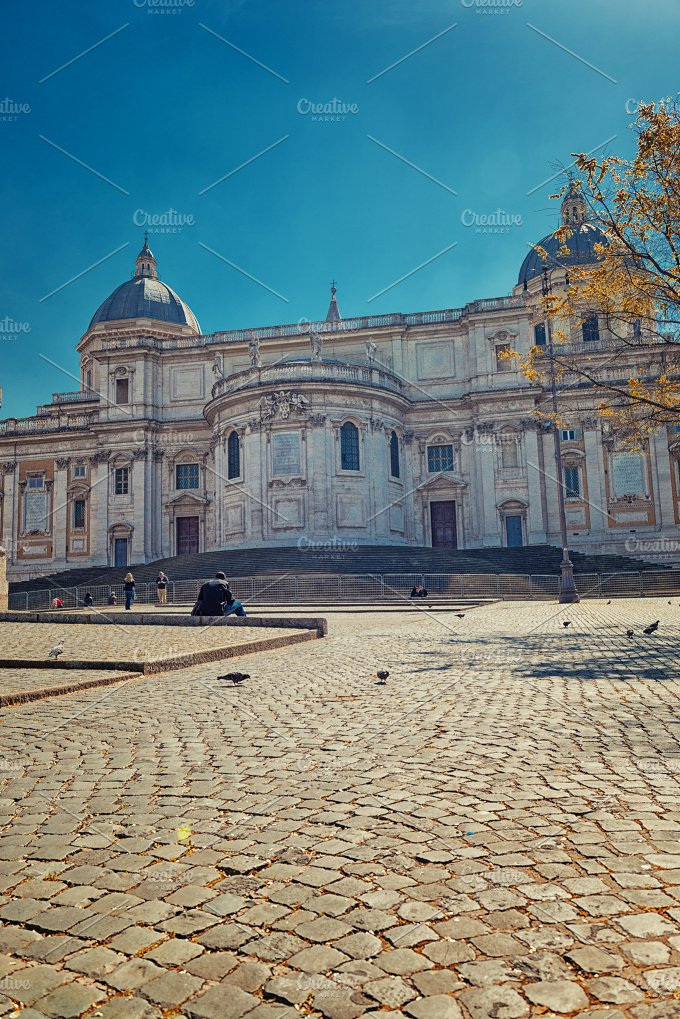 Basilica of St. Mary Major - Architecture